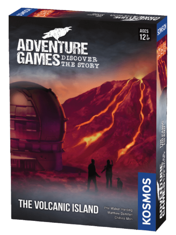 Adventure Games - Volcano Island