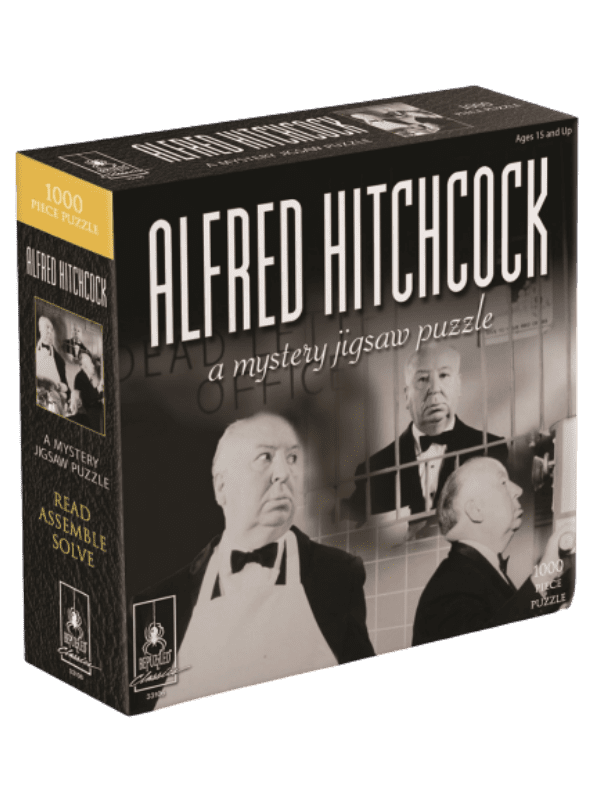 A Mystery Jigsaw Puzzle - Alfred Hitchcock