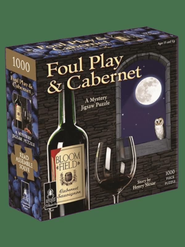 A Mystery Jigsaw Puzzle - Foul Play & Cabernet