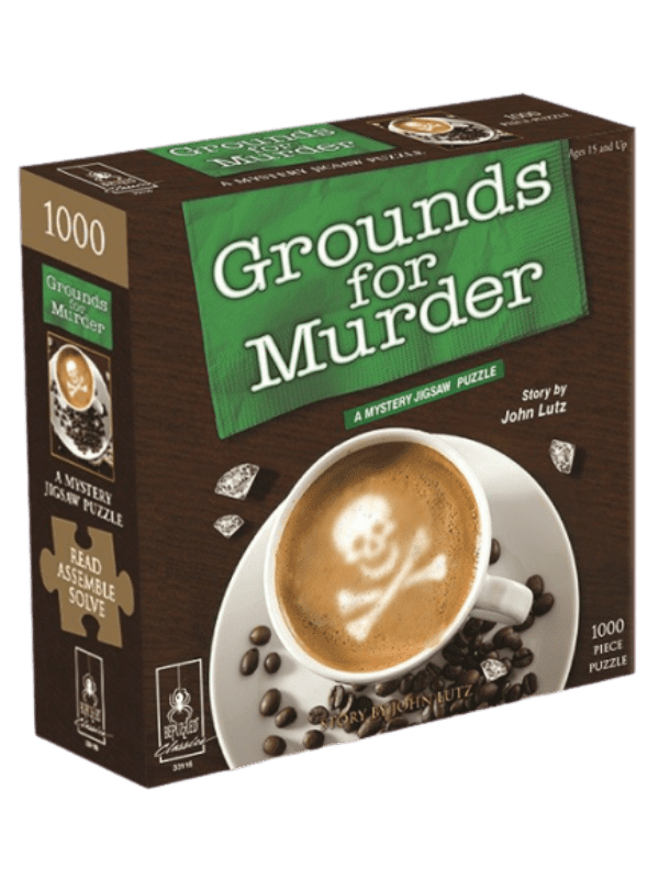 A Mystery Jigsaw Puzzle - Grounds for Murder