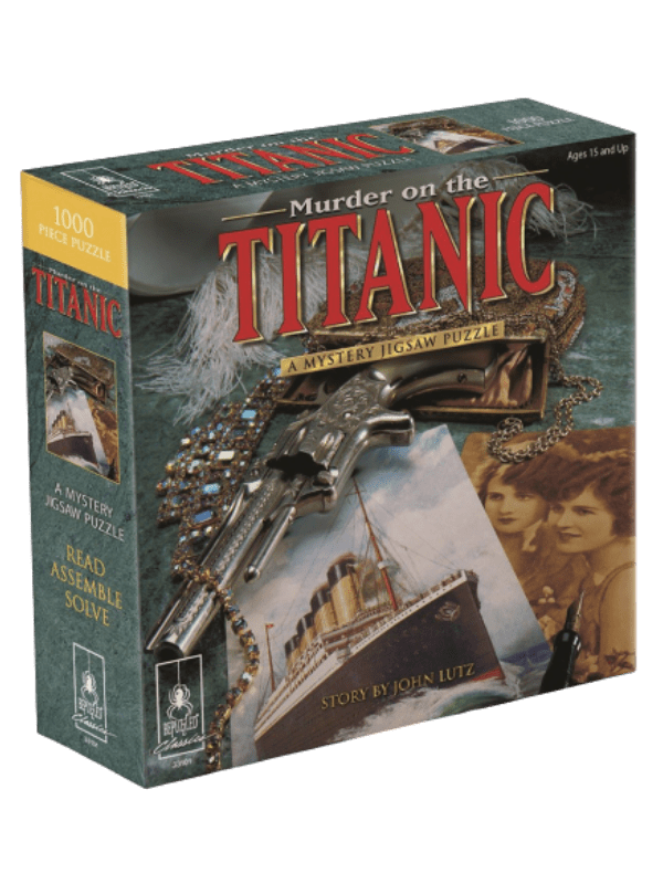 A Mystery Jigsaw Puzzle - Murder on the Titanic