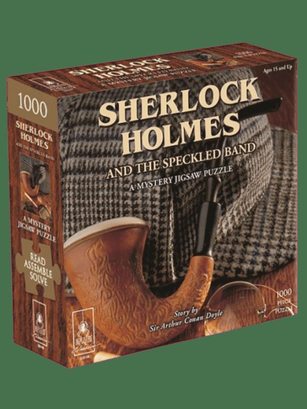 Mystery Jigsaw Puzzle - Sherlock Holmes