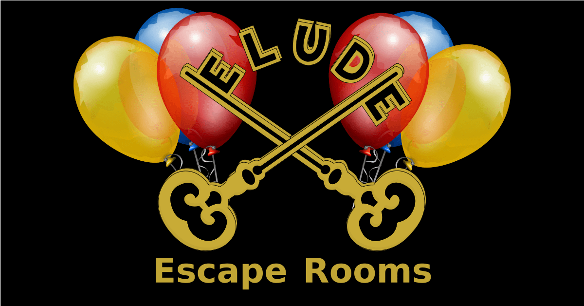 Elude Logo with Balloons