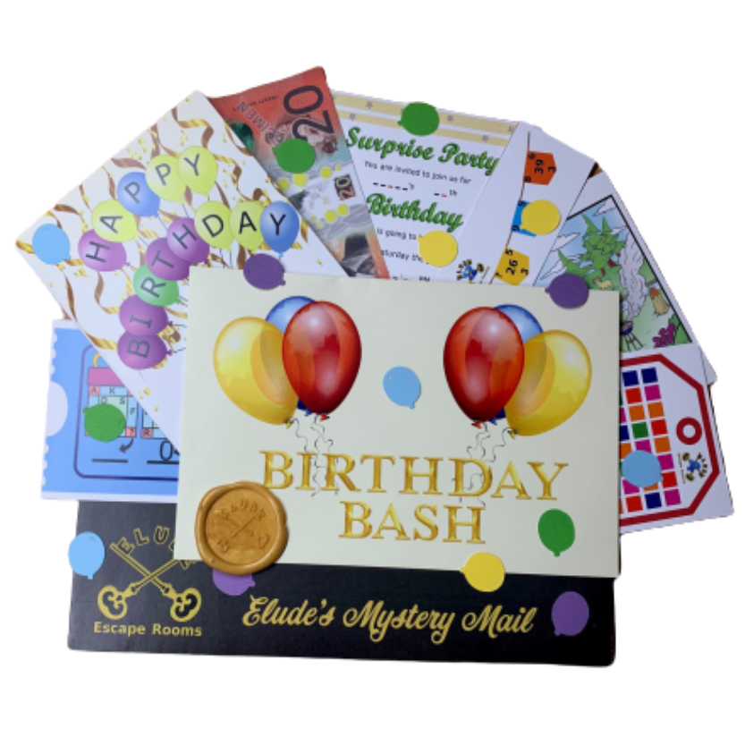 Mystery Mail Birthday bash