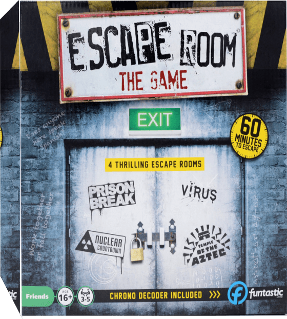 Escape Room the Game - 4 Games + Chrono Decoder