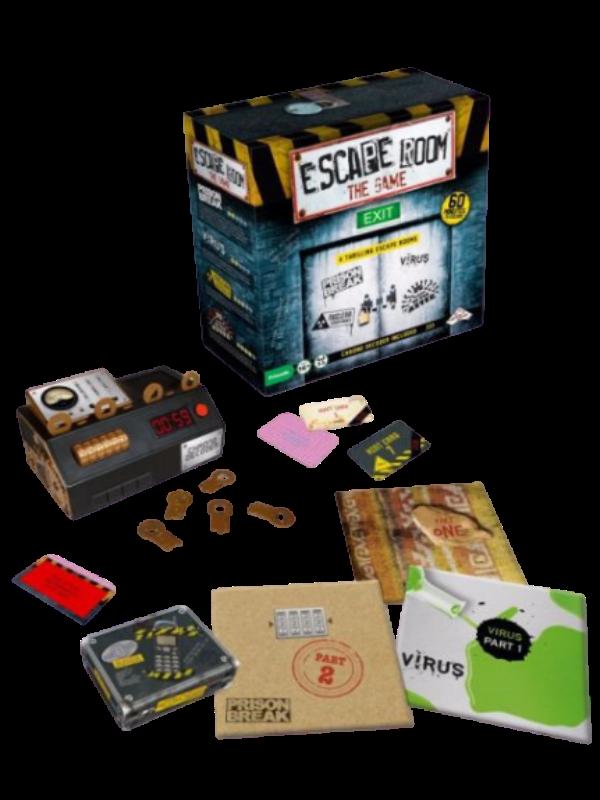 Escape Room the Game - 4 Games + Chrono Decoder