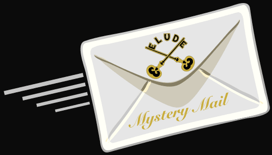 Mystery Mail Envelope