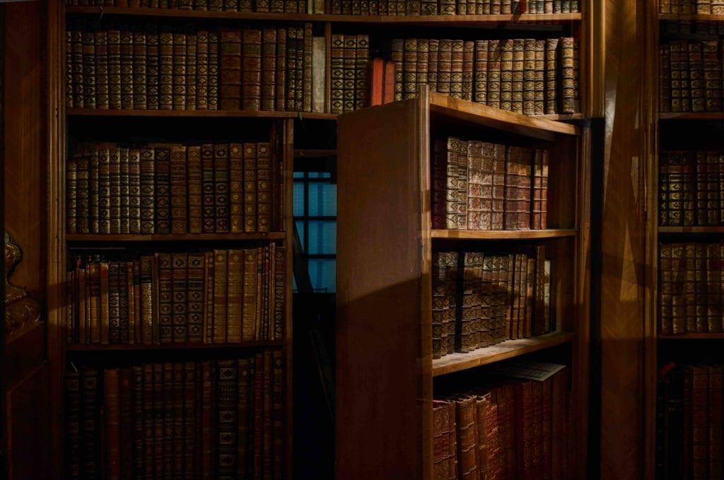 Secret Room in Bookcase