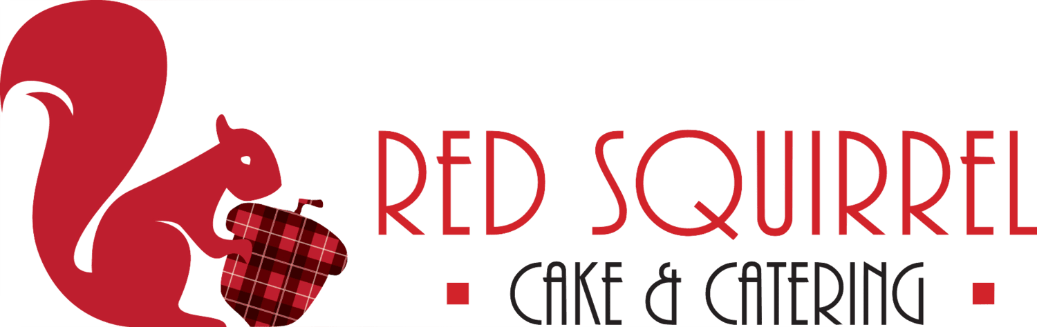 Red Squirrel Catering Logo