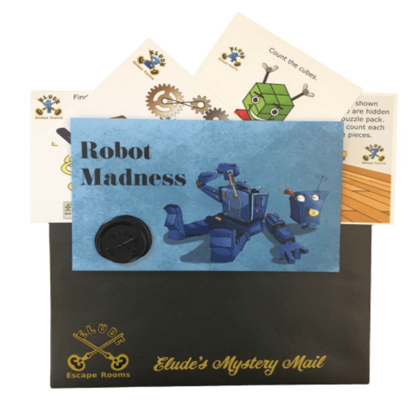 Mystery Mail Robot Madness