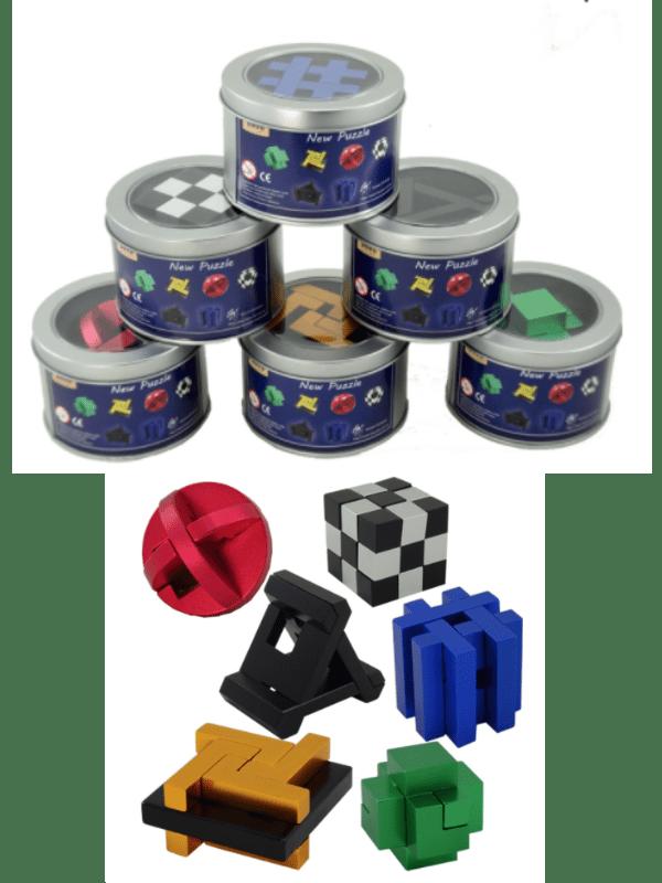 Metal Puzzles - Full set of 6