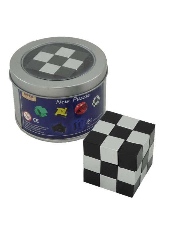 Metal Puzzle - Snake Cube