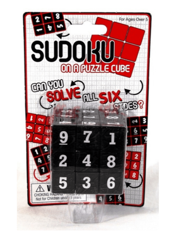 Sudoku on a cube