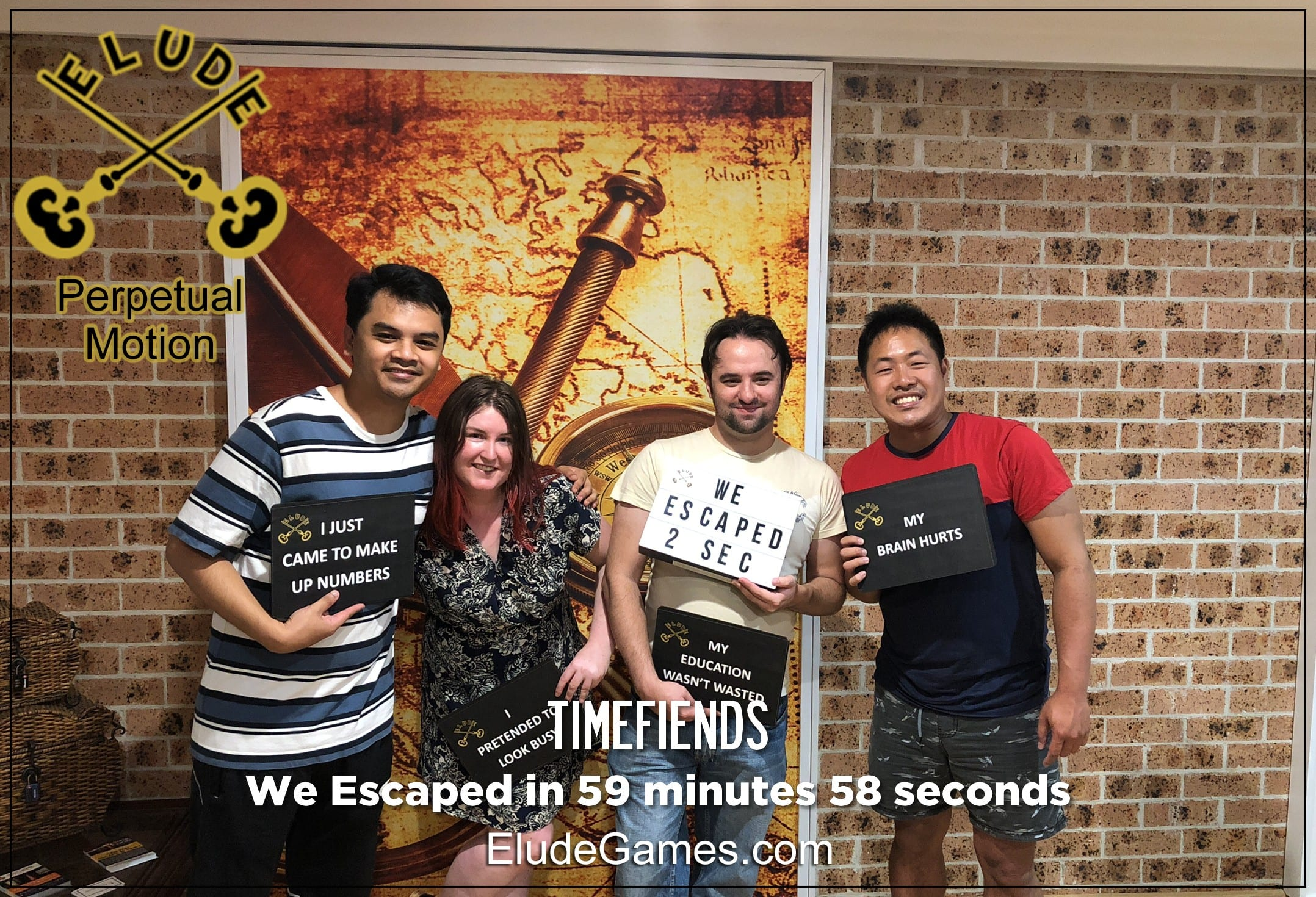 Timefiends Team Photo