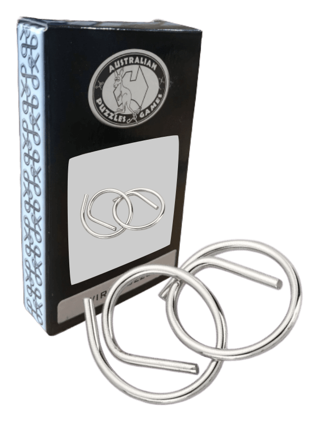 Metal Wire Puzzle - Royal Rings